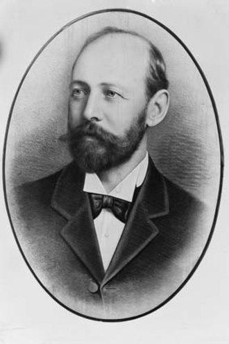 Joseph Cook - Cook in 1894