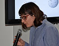 Journée Wikipédia, objet scientifique 2013Camille Paloque-Berges.JPG