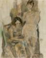 JulesPascin-1927-Zimette and Mireille.png