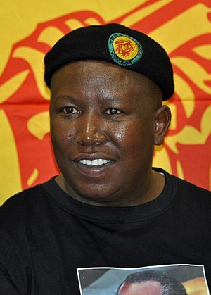 South African general election, 2019 - Image: Julius Malema 2011 09 14 cropped
