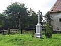 Kříž na severovýchodním okraji Jiříkova při silnici do Kněžpole (Q72850242) 01.jpg