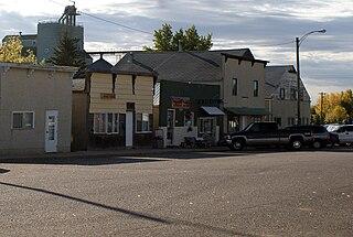 Kitscoty Village in Alberta, Canada