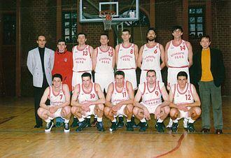 KK Lovćen - KK Lovcen, sezona 1995-96