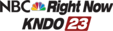 KNDO 23 NBC Right Now logo.png