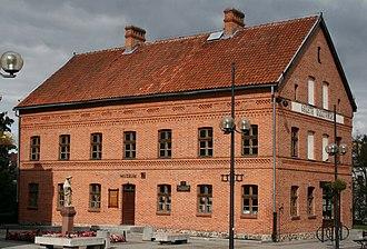 Olsztyn - Historic building that was once the headquarters of Gazeta Olsztyńska (Olsztyn Daily Newspaper)