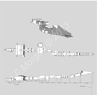KV11 - KV11 Setnakhte-Rameses III Schematic