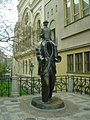 Kafka's Monument - Prague.JPG