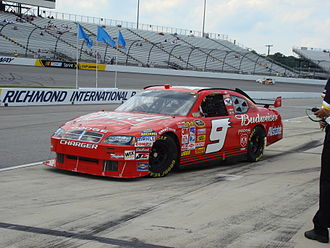 "Dodge Charger (LX) - NASCAR Sprint Cup's newest Dodge car design ""The COT"" (Car of Tomorrow), driven by Kasey Kahne"