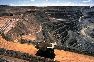 Mining The extraction of valuable minerals or other geological materials from the Earth