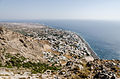 Kamari seen from ancient Thera - Santorini - Greece - 01.jpg