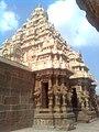 Kanchi Kailasanathara Temple Gopuram front view.jpg