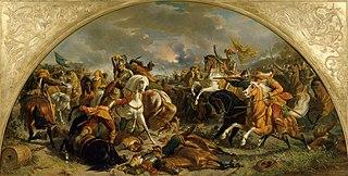 Der Sieg des österreichischen Heeres über die Schweden bei Nördlingen 1634