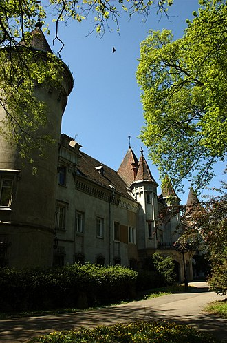 Satu Mare County - The Karolyi castle, Carei