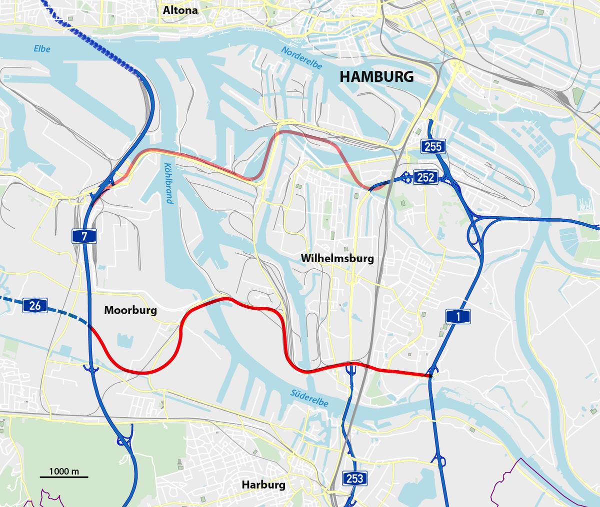 Hafenquerspange  U2013 Wikipedia