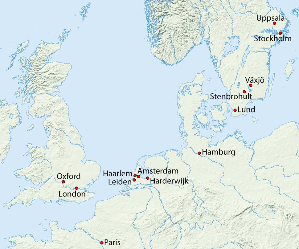 Karte Linne
