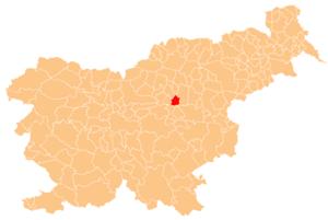 Municipality of Prebold - Image: Karte Prebold si
