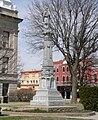 Kearney County, Nebraska courthouse Civil War monument.JPG