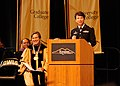Kennesaw State University graduates receive salute from Georgia Army Guard Commander (5383140391).jpg