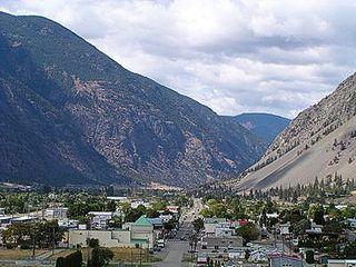 Keremeos Village in British Columbia, Canada