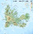 Kerguelen topographic map-fr.png