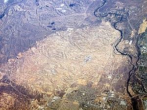 Kern River Oil Field - Kern River Oil Field aerial, 2012.