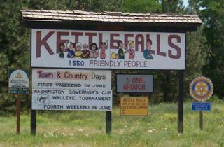 Kettle Falls, Washington City in Washington, United States
