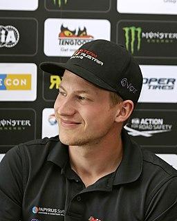 Kevin Eriksson Swedish racing driver