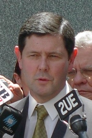 WorkChoices - The then Minister for Employment and Workplace Relations, Kevin Andrews, who introduced the Australian industrial relations legislation, speaking at a press conference on 8 November 2005