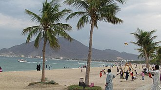 Emirate of Sharjah - Khor Fakkan beach