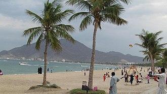 Khor Fakkan - Image: Khorfakkan beach