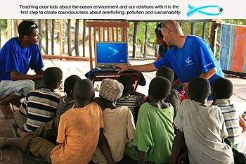 English: Environmental Education in Pemba, Tan...