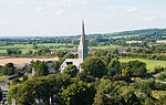Kildare White Abbey as seen from the Round Tower 2013 09 04.jpg