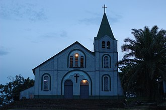 Religion in the Democratic Republic of the Congo - Church in Kindu, DRC