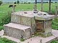 Kippen ROC Post Entrance Hatch and GZI - geograph.org.uk - 1354419.jpg