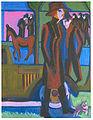 Kirchner - Gehende Dame mit Hündchen - 1926.jpg