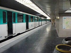 Kléber (Paris Métro) - Image: Kleber clean