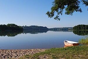 Kashubian Lake District - Kłodno Lake