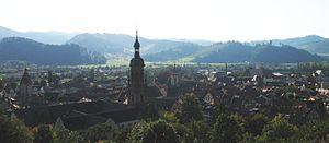 Gengenbach Abbey - Image: Kloster Gengenbach