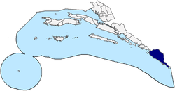 Location of Konavle within Dubrovnik-Neretva County