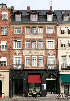 Hans Næss (architect) - Image: Kongens Nytorv 18 København