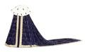 Kröningsmantel av purpurfärgad sammet - Livrustkammaren - 91426.tif