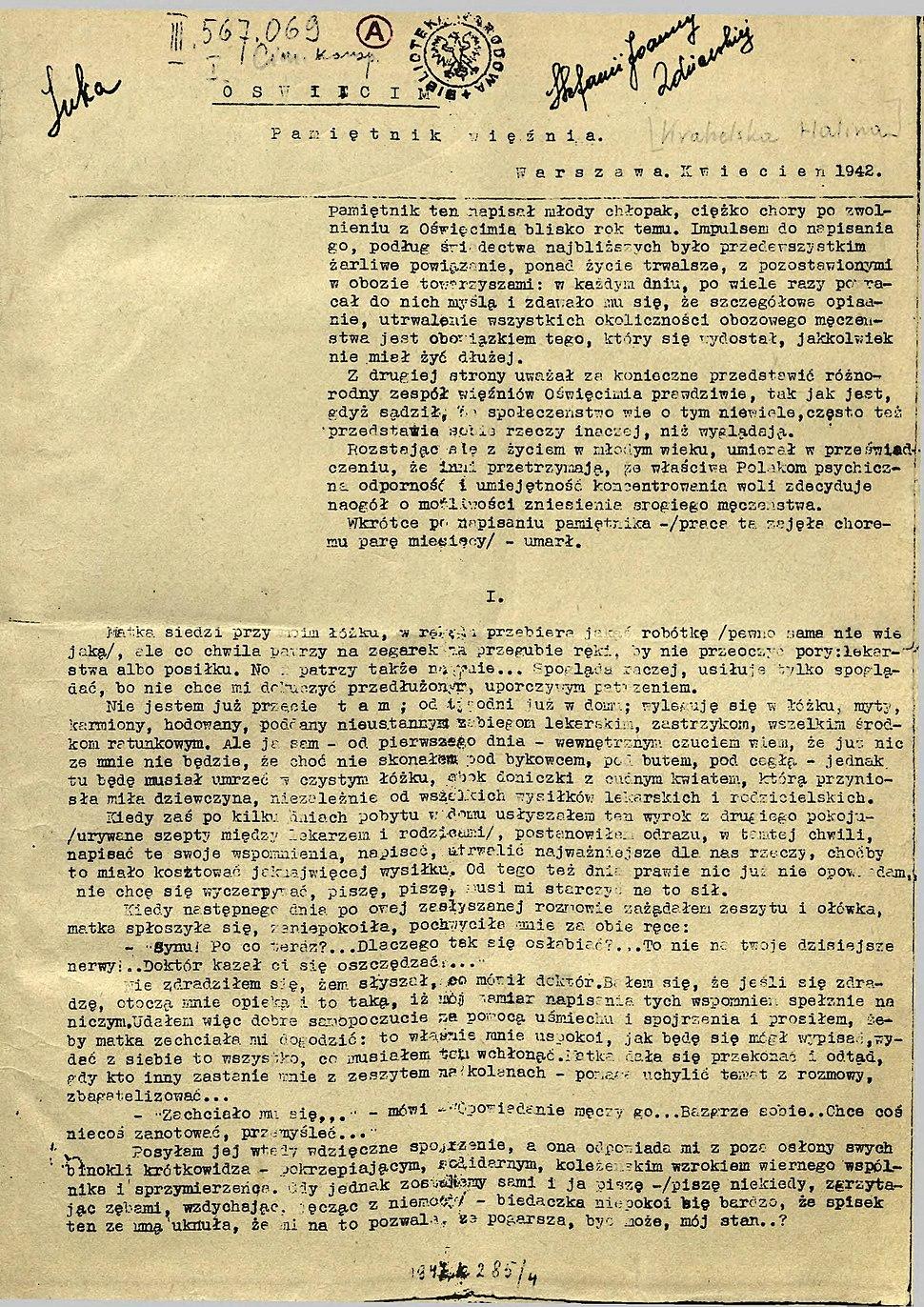 Krahelska Pamiętnik więźnia