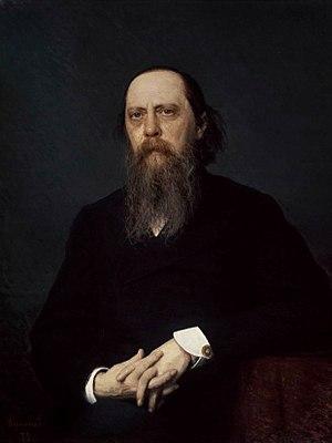 Mikhail Saltykov-Shchedrin - Portrait of Shchedrin by Ivan Kramskoi