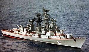 Soviet destroyer Krasny Kavkaz - Image: Krasnyy Kavkaz 1985