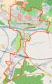 Krosno Odrzańskie location map.png