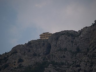 Krujë - Sari Saltik on top of Mt Kruja