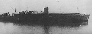 Japanese aircraft carrier Kumano Maru - Kumano Maru in 1947 at Kawasaki Heavy Industries