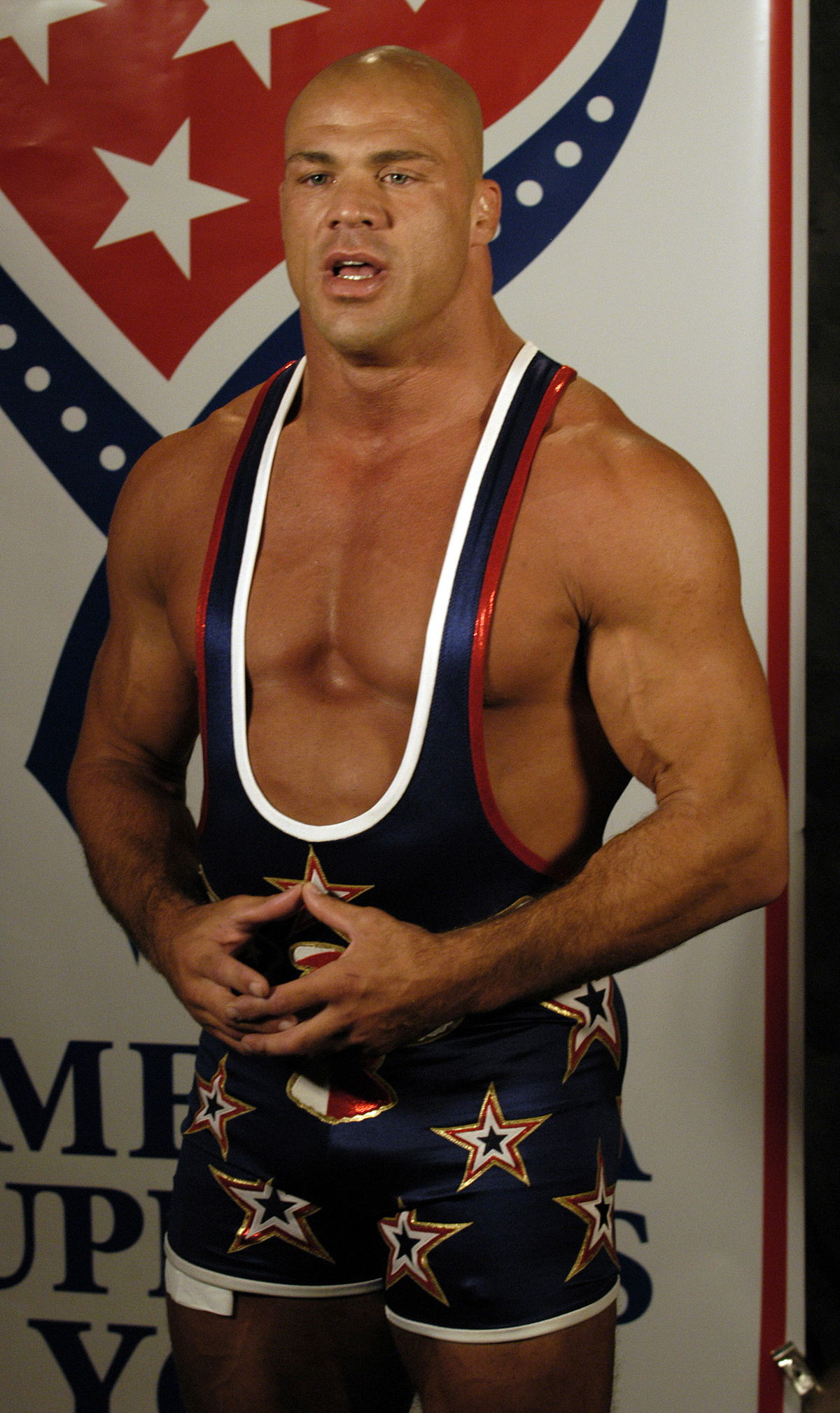 Kurt Angle Wikipedia - Famous wwe wrestlers looked completely different