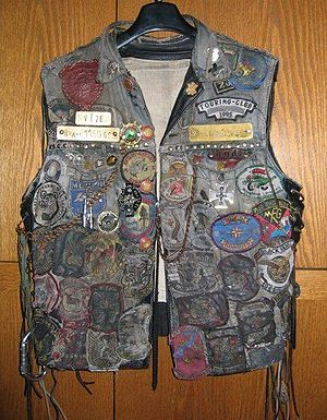 Outlaw motorcycle club - Motorcycle club vest, Germany
