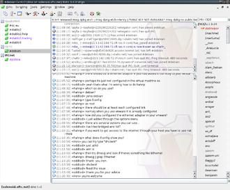 KVIrc - Image: Kvirc 3.4.0